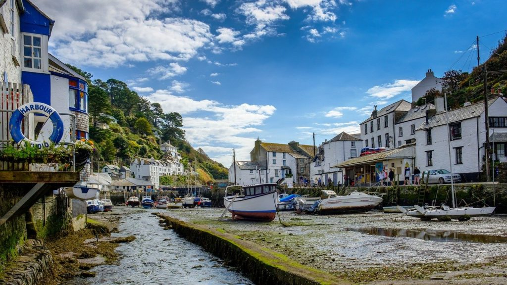 harbour, fishing village, boats